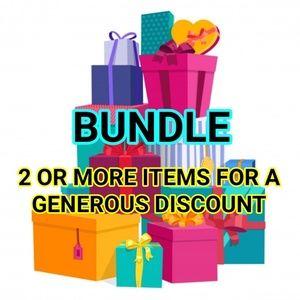 BUNDLES Offered Discount Sale Bundle Save Money